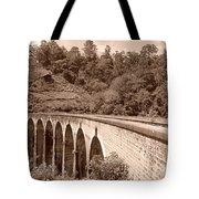 View Of Ancient Bridge Tote Bag