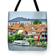 View Of Bamberg Riverfront Tote Bag