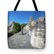 View Of Becan, Mexico Tote Bag