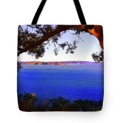 View Of  Central Coast From West Head  Tote Bag