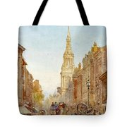 View Of Church Of Mary Tote Bag
