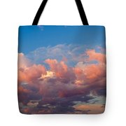 View Of Clouds In The Sky Tote Bag