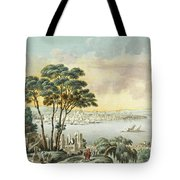 View Of Constantinople From The Marmara Sea Tote Bag