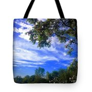 View Of Countryside In Frederick Maryland In Summer Tote Bag
