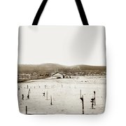 View Of Del Monte Bath House Looking Southwest Towards Monterey  Tote Bag