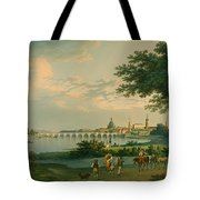 View Of Dresden Tote Bag