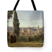 View Of Florence From The Boboli Gardens Tote Bag