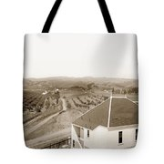 View Of Foothill Orchards. This View Of Orchards In The Foothill Tote Bag