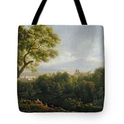 View Of Frascati Tote Bag
