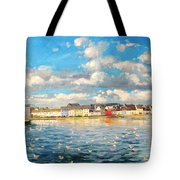 View Of Galway Harbour Tote Bag