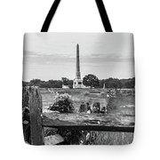 View Of Gettysburg  Tote Bag