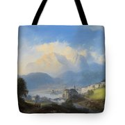 View Of Gmunden On Traunsee Tote Bag
