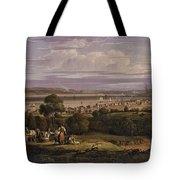 View Of Greenock  Scotland 1816 By Robert Salmon Tote Bag