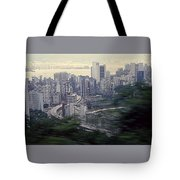 View Of Hong Kong Tote Bag