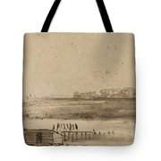 View Of Houtewael Near The Sint Anthoniespoort [recto] Tote Bag