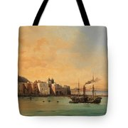 View Of Ischia From The Sea Tote Bag