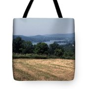 View Of Lake Waramaug Tote Bag