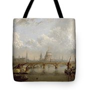 View Of London  Tote Bag