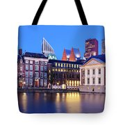 View Of Mauritshuis And The Hofvijver - The Hague Tote Bag