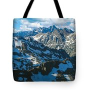 View Of Mountains, Table Mountain Tote Bag
