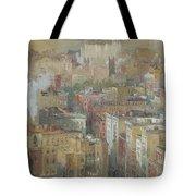 View Of New York City Tote Bag