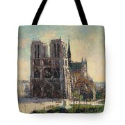 View Of Notre Tote Bag