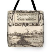 View Of Nuremberg From The East [left Section] Tote Bag