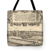 View Of Nuremberg From The West [left Section] Tote Bag