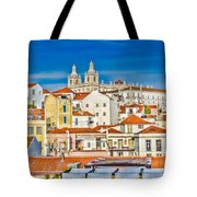 View Of Old Alfama Tote Bag