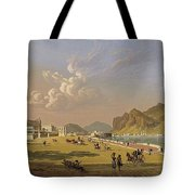 View Of Palermo 1845, Robert Salmon Tote Bag