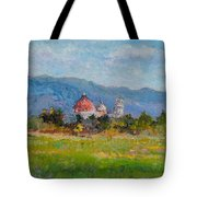 View Of Pisa From Countryside Tote Bag