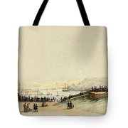 View Of Plymouth Hoe Tote Bag