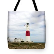 View Of Portland Bill Lighthouse Tote Bag