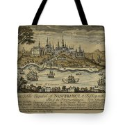 View Of Quebec City 1759 Tote Bag