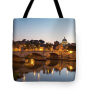 View Of Rome Tote Bag