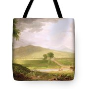 View Of Rutland - Vermont Tote Bag by Asher Brown Durand