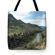 View Of Salt River Canyon Tote Bag