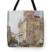 View Of Santa Maria In Monticelli, Rome  Tote Bag
