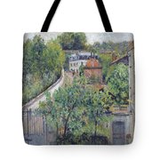 View Of Serves Tote Bag
