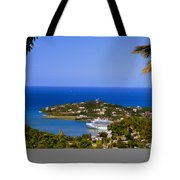 View Of St. Lucia Tote Bag