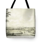 View Of The City Of New York Tote Bag