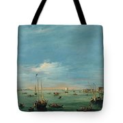View Of The Giudecca Canal And The Zatter Tote Bag