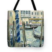 View Of The Grand Canal In Venice Tote Bag