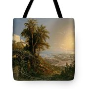View Of The Harbor Of Puerto Cabello, Study Tote Bag