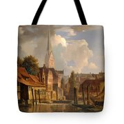 View Of The Little Alster Tote Bag