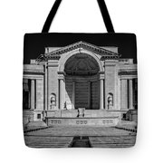 View  Of The Memorial Amphitheater At Arlington Cemetery  Tote Bag
