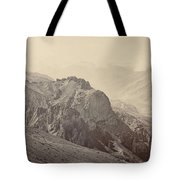 View Of The Mountains Of The Himalayas, Samuel Bourne, 1866 Tote Bag