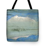 View Of The Old Man At Coniston As Seen From Brantwood House Tote Bag
