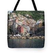 View Of The Riomaggiore, La Spezia Tote Bag