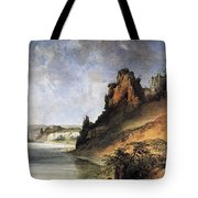 View Of The Stone Walls Tote Bag